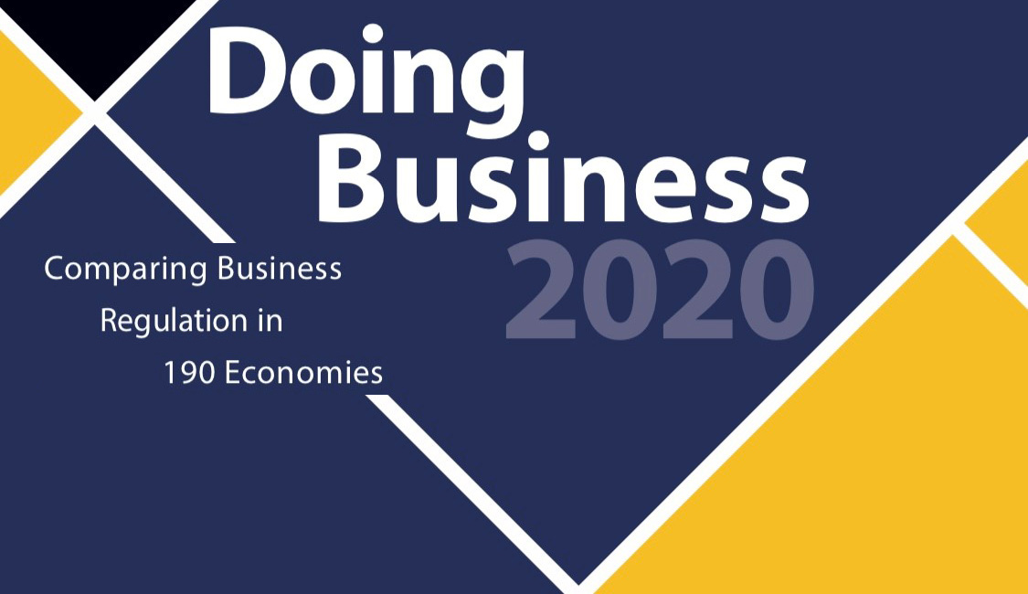 The World Bank report: Doing Business 2020